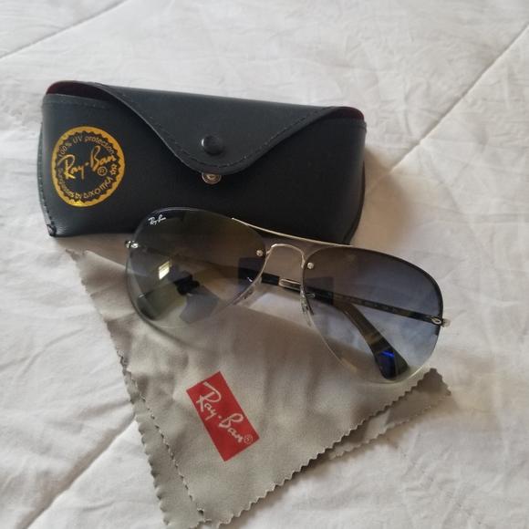 Ray Bans RB3449 Iconic Aviator Sunglasses